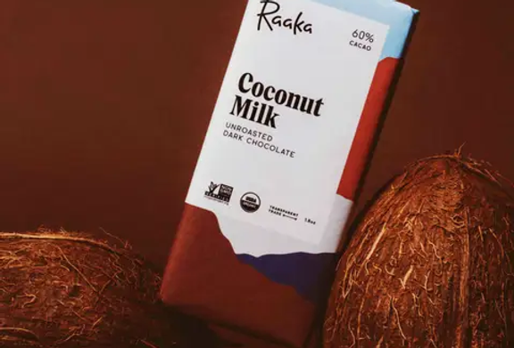 Coconut Milk Chocolate by Raaka