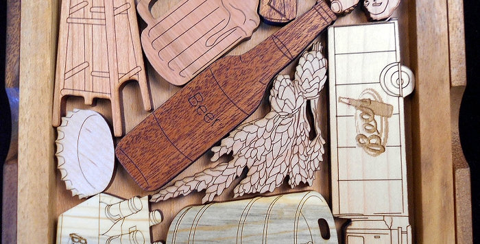 Handmade Wood Puzzles