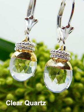 Leah Gemstone Earrings