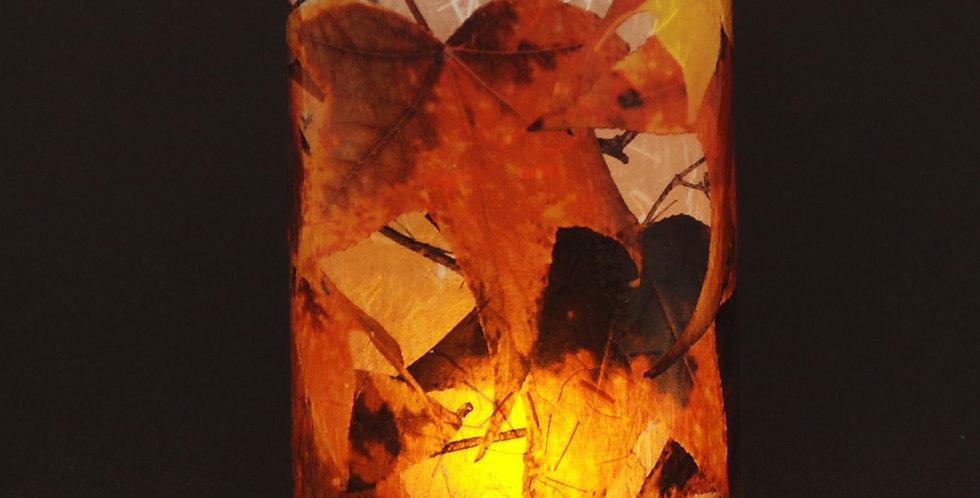 Botanical LED Votives - Leaves