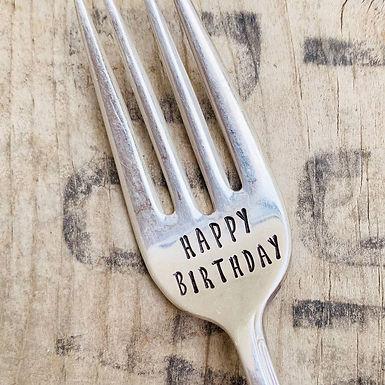 Happy Birthday Fork