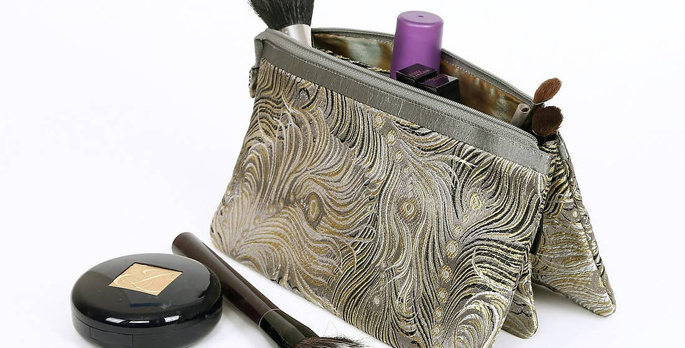 Satin Cosmetic Bag