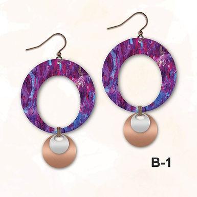 Illustrated Earrings 3