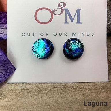 Stud Earrings by O3M