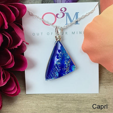 Triangle Necklace by O3M