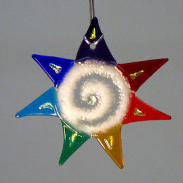Rainbow Star Sun Catcher
