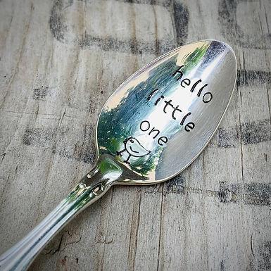 Vintage Baby Spoon