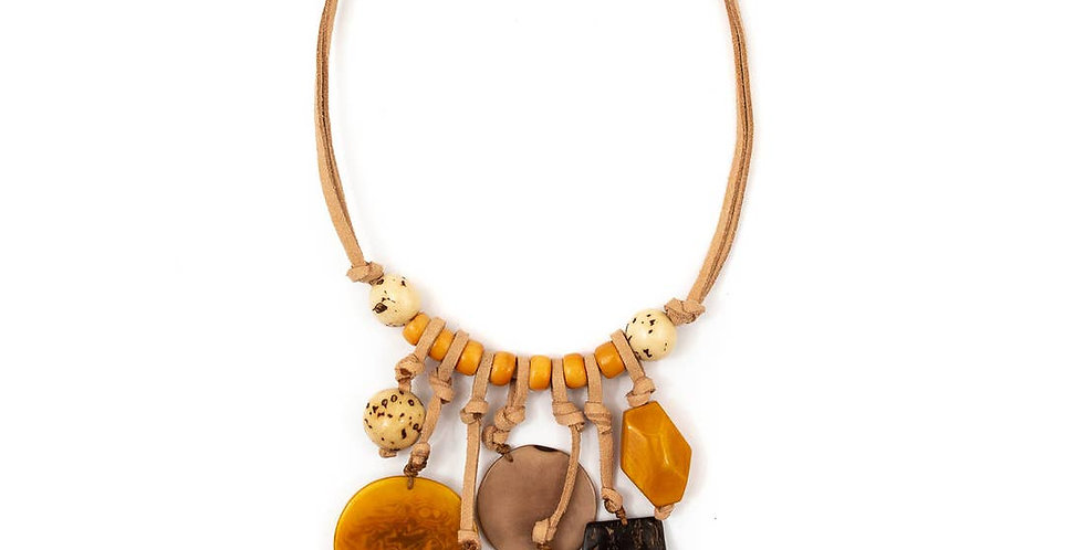 Consuelo Tagua Necklace