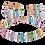 Thumbnail: GeoCUBE® Necklace Multicolour-Crystal
