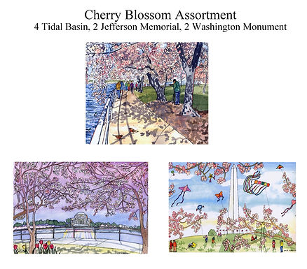 DC Sights Notecards (Set of 8)