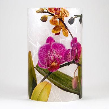 Botanical LED Votives - Orchids
