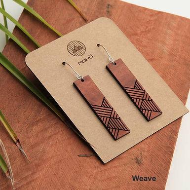 Moku Wood Earrings (Select a style)