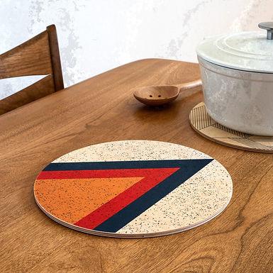 Graphic Wood Trivets