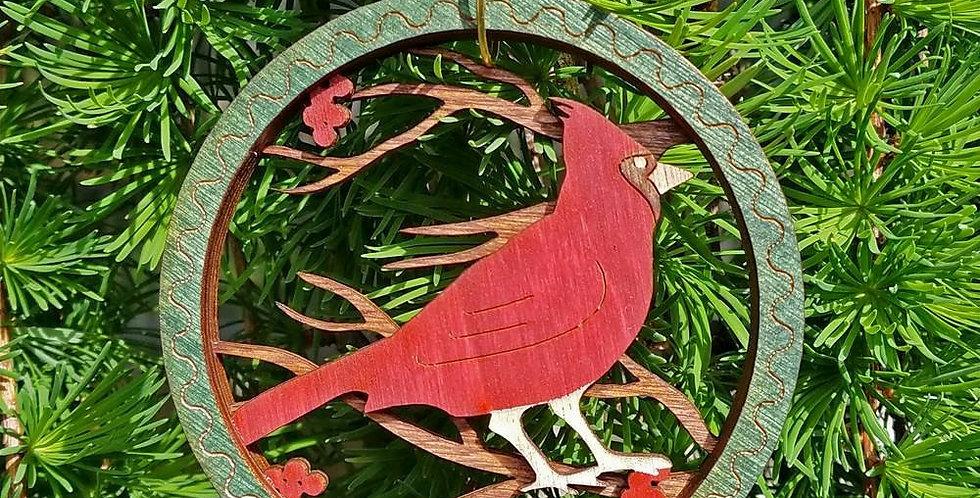 Layered Wood Ornaments
