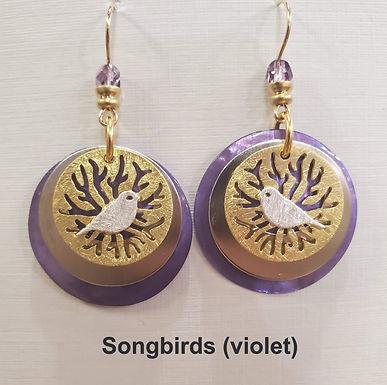 JMR Two-Tone Earrings