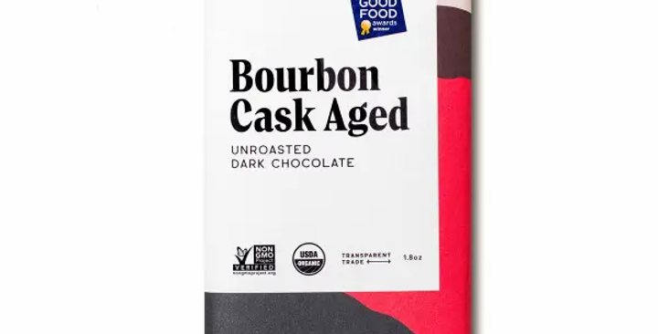 82% Bourbon Cask Aged Chocolate Bar