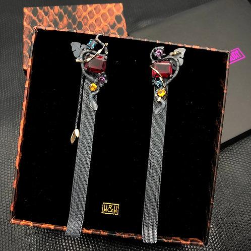 Ophidian Earrings