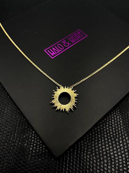 SUN GODDESS 9CT YELLOW GOLD
