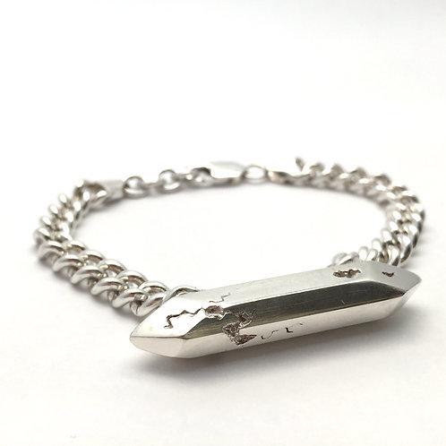 Quartz Bar Bracelet