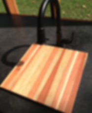 Redwood Cutting Board