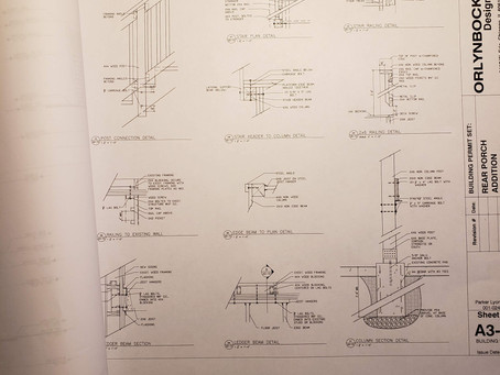 Drawings in an architect's toolbox