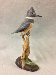 1/2 Scale Belted Kingfisher