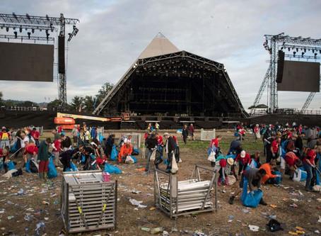 Glastonbury Festival to stop selling single-use plastic bottles
