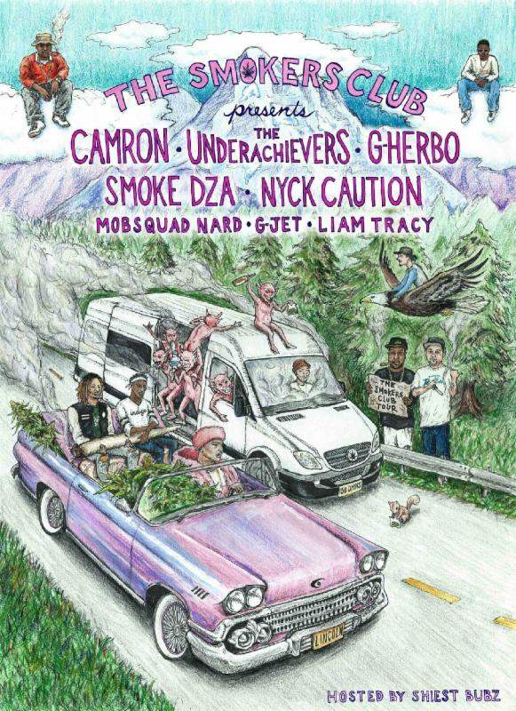 Smokers Club Tour Press
