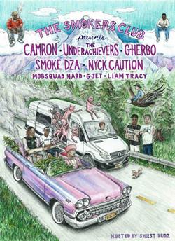 Smokers Club Tour Press