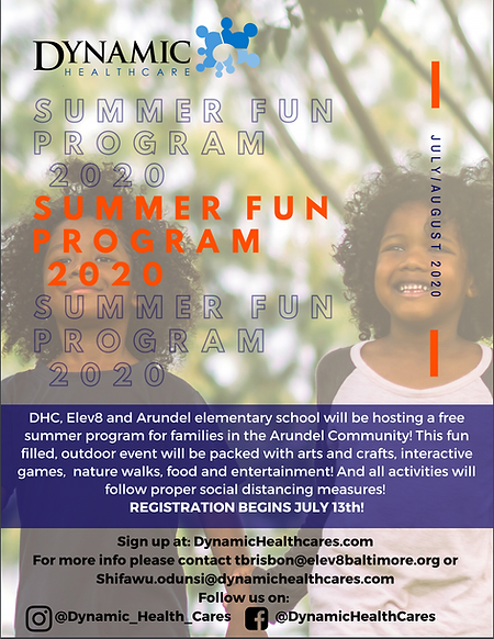 Dynamic Summer Program!