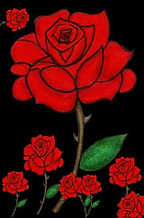 Eight Red Roses_Transparent Background.j