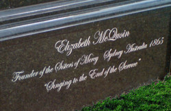 Sisters of Mercy Monument (detail)