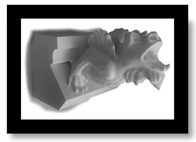 3D printed Gargoyle