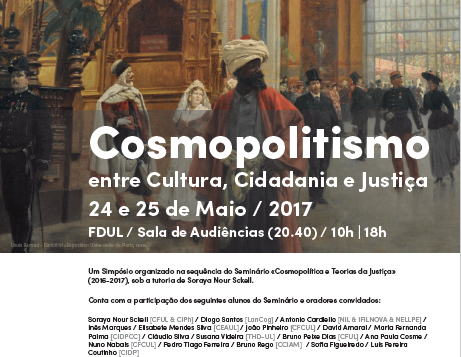 Symposium Cosmopolitism: Between Culture, Citizenship and Justice