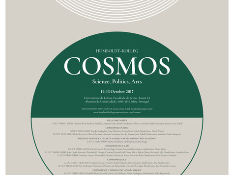 Cosmos: Science, Politics and Arts