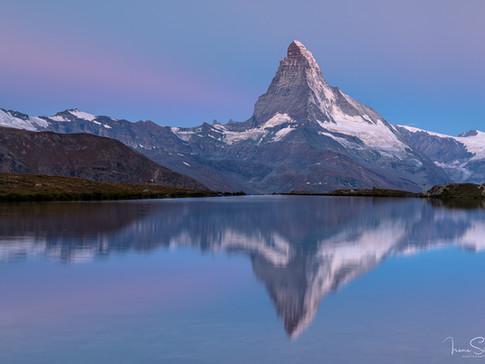 Matterhorn blue hour