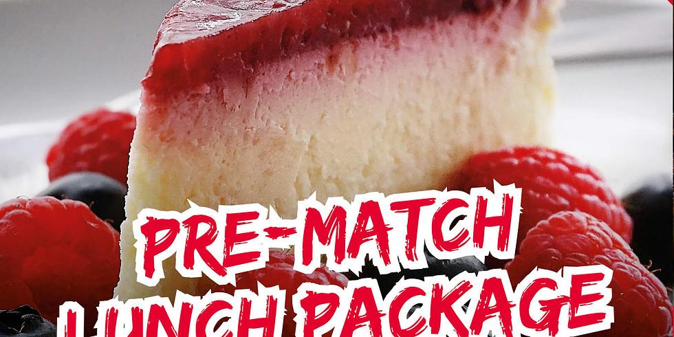 Pre Match Lunch - vs Newton Abbot (1)