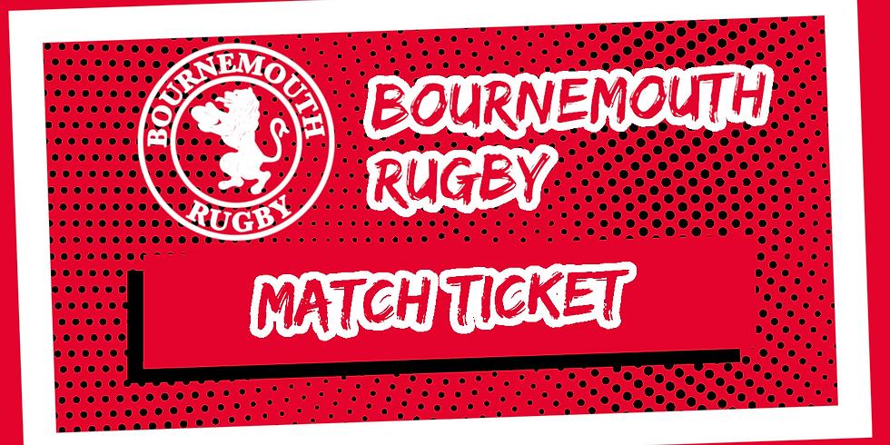 Match Tickets - vs Westcliff