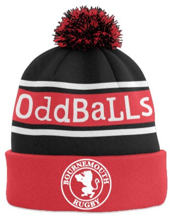 """Oddballs"" Bournemouth Rugby Bobble Hats"