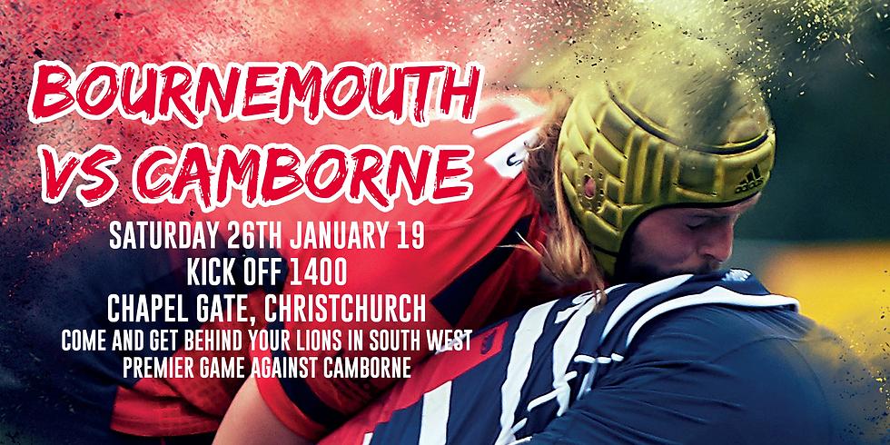 Match Tickets Bournemouth Vs Camborne