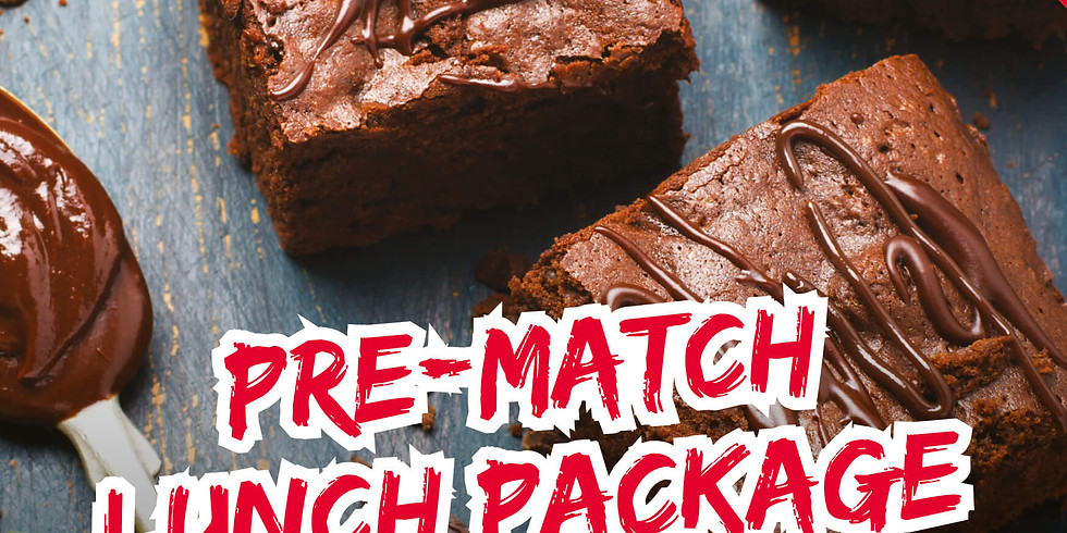Pre Match Lunch - vs Ivybridge