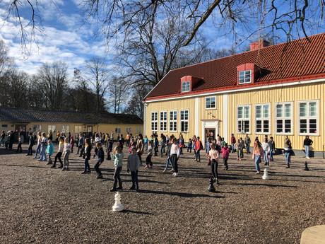 """Jerusalema dans kommer snart i """"Lilla aktuellt"""". Nu är det filmat, håll utkik"""