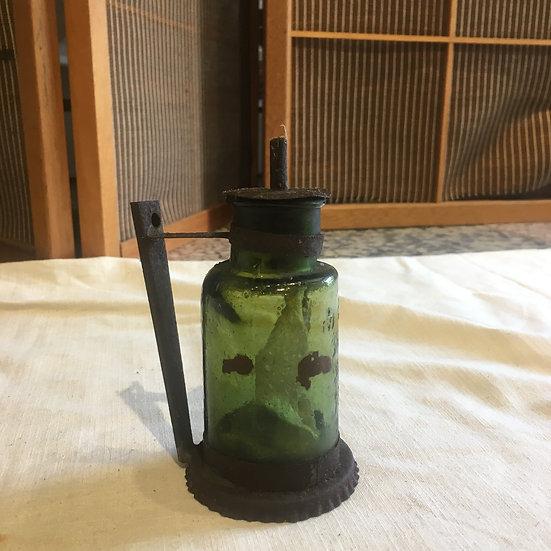 台灣早期  煤油燈瓶(罕見)