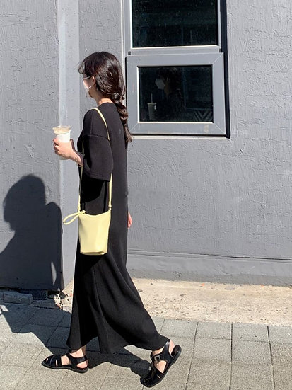華夫格連身裙