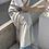 Thumbnail: 棉麻直紋細肩洋裝
