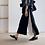 Thumbnail: 黑白相襯彈性裙