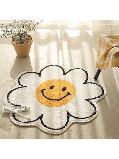 花朵微笑地墊 (80cm)