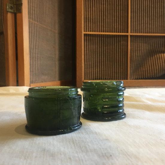 台灣早期 漿糊玻璃瓶 (無蓋)
