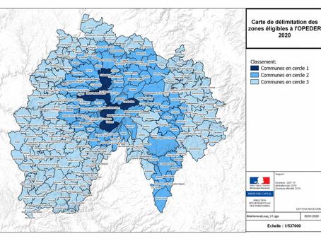 Les aides de protection de troupeaux dans le Cantal