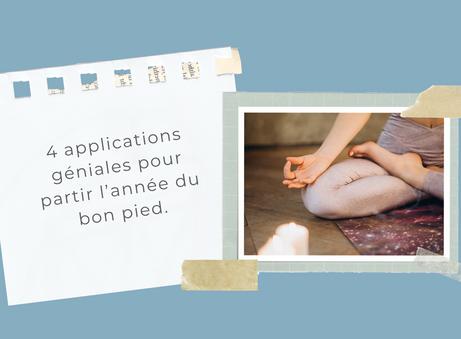 Dossier Résolutions: 4 applications géniales pour partir l'année du bon pied!